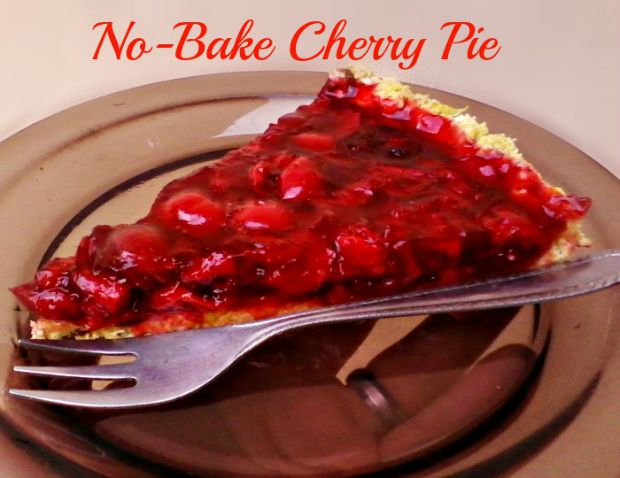 No-bake cherry pie