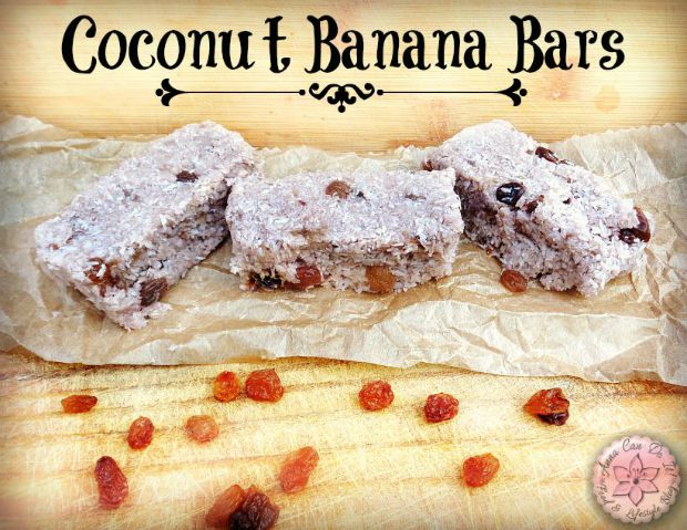 Coconut Banana Bars - Anna Cam Do It! Pin it for later