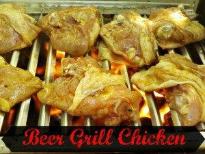 Beer Grill Chicken - Anna Can Do It!