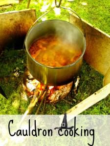 Cauldron cooking, pork stew - Anna Can Do It!