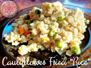 "Cauliflower Fried ""Rice"" - Anna Can Do It!"