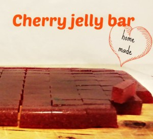 Cherry jelly bars - Anna Can Do It!