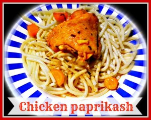 Chicken paprikash - Anna Can Do It!