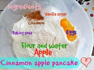 Cinnamon apple pancake - Anna Can Do It!