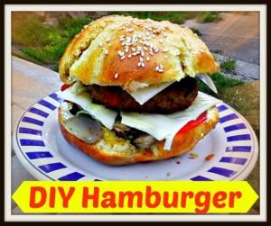 DIY Hamburger - Anna Can Do It!