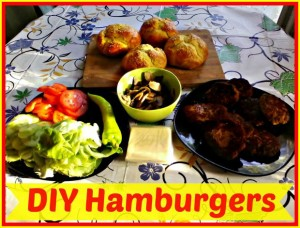 DIY Hamburger - Anna Can Do It!