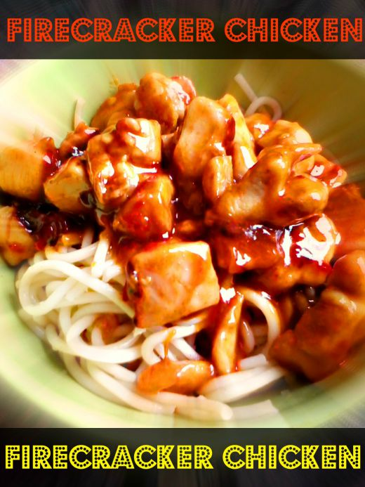 Firecracker chicken recipe - Anna Can Do It!