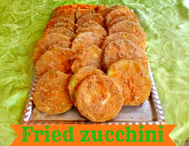 Freezed-Fried zucchini - Anna Can Do It!