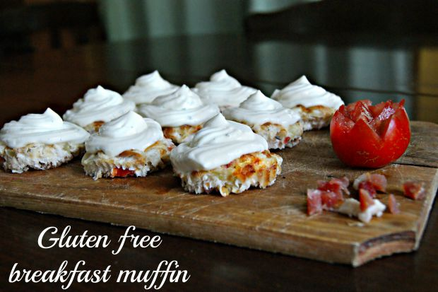 Gluten free breakfast muffin - Anna Can Do It!