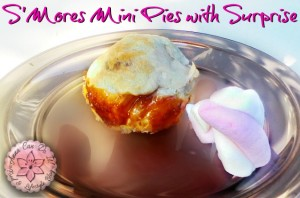 S'Mores Mini Pies with Surprise - Anna Can Do It!