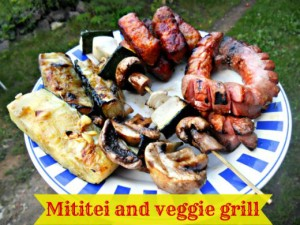 Mititei and veggie grill - Anna Can Do It!