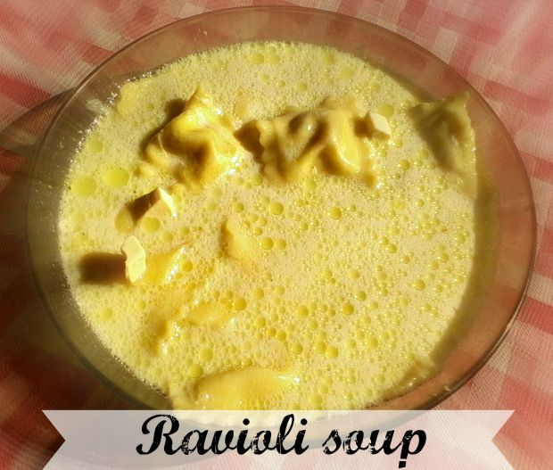 Ravioli soup - Anna Can Do It!