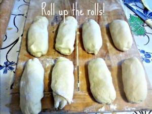 Stuffed dinner rolls - Anna Can Do It!