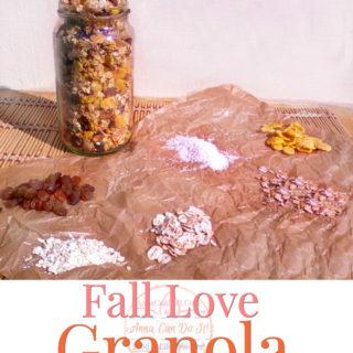 Fall Love Granola