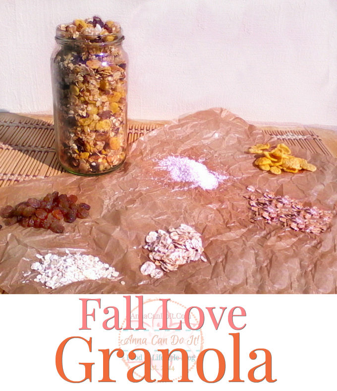 Fall Love Granola - Anna Can Do It!