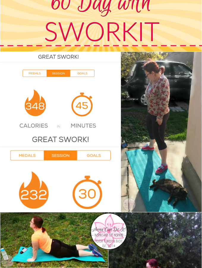 60 Day with Sworkit - Anna Can Do It!