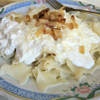 Hungarian Cottage Cheese Noodles