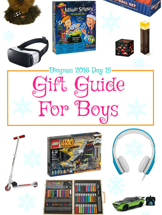 Blogmas 2016 Day 15 – Gift Guide For Boys