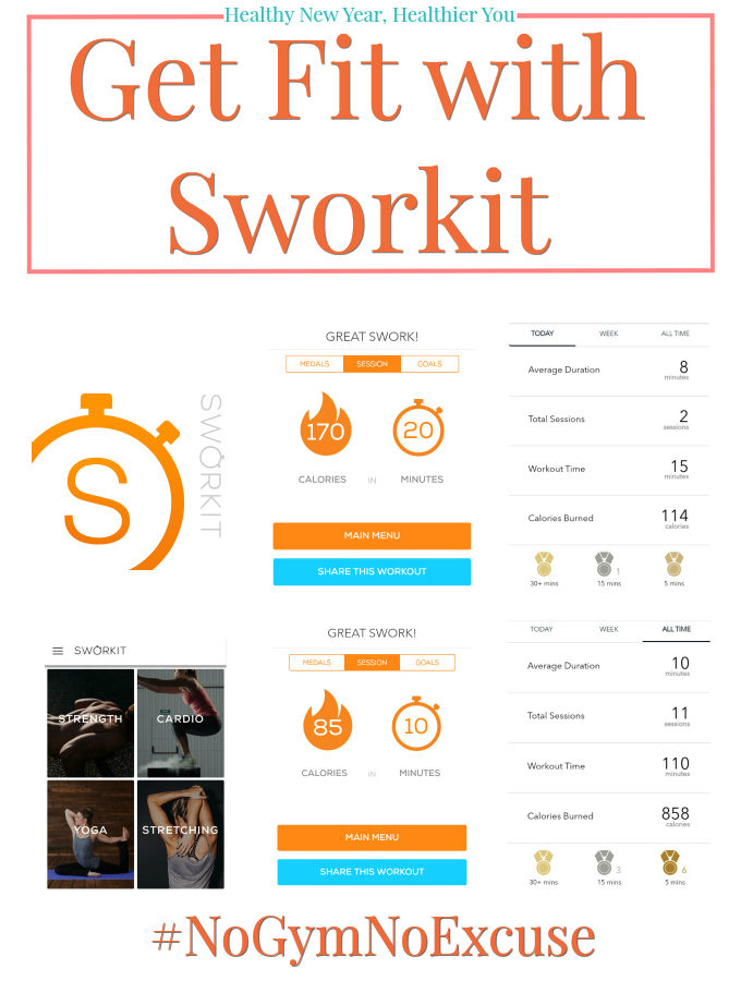 Healthy New Year, Healthier You - Get Fit with Sworkit - Anna Can Do It!
