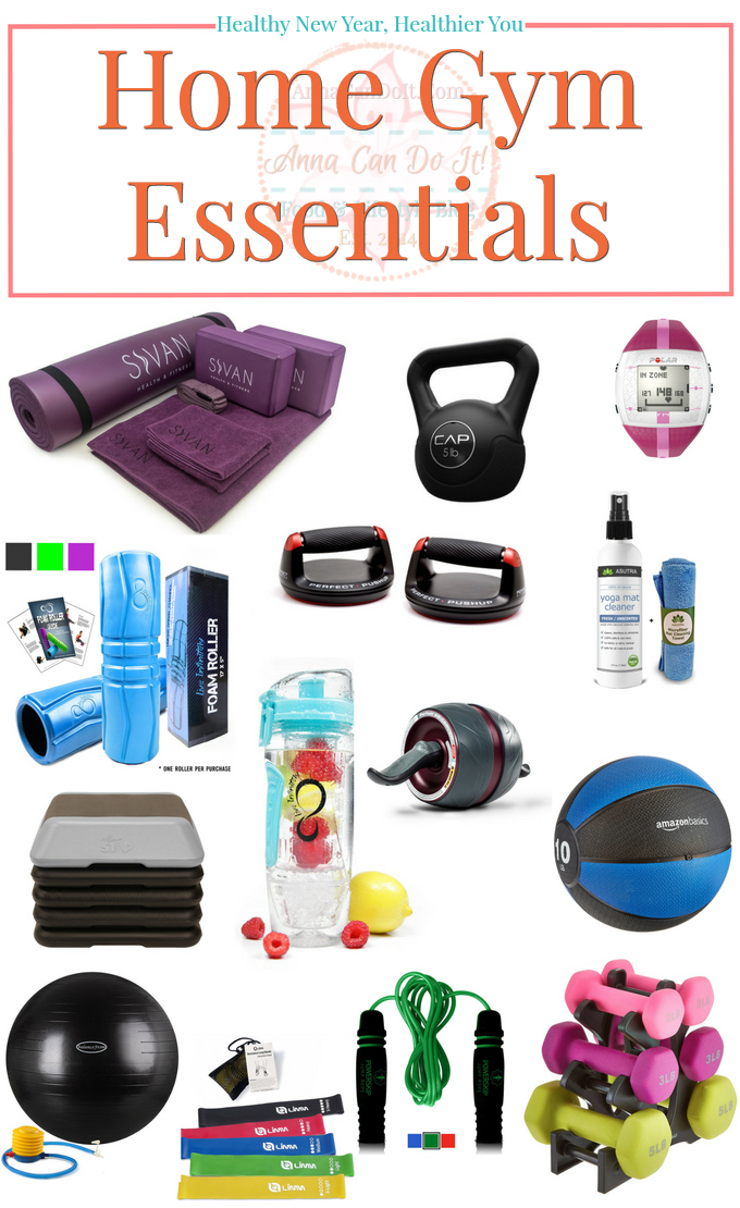 Healthy new year healthier you home gym essentials