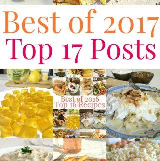 Best of 2017 – Top 17 Posts