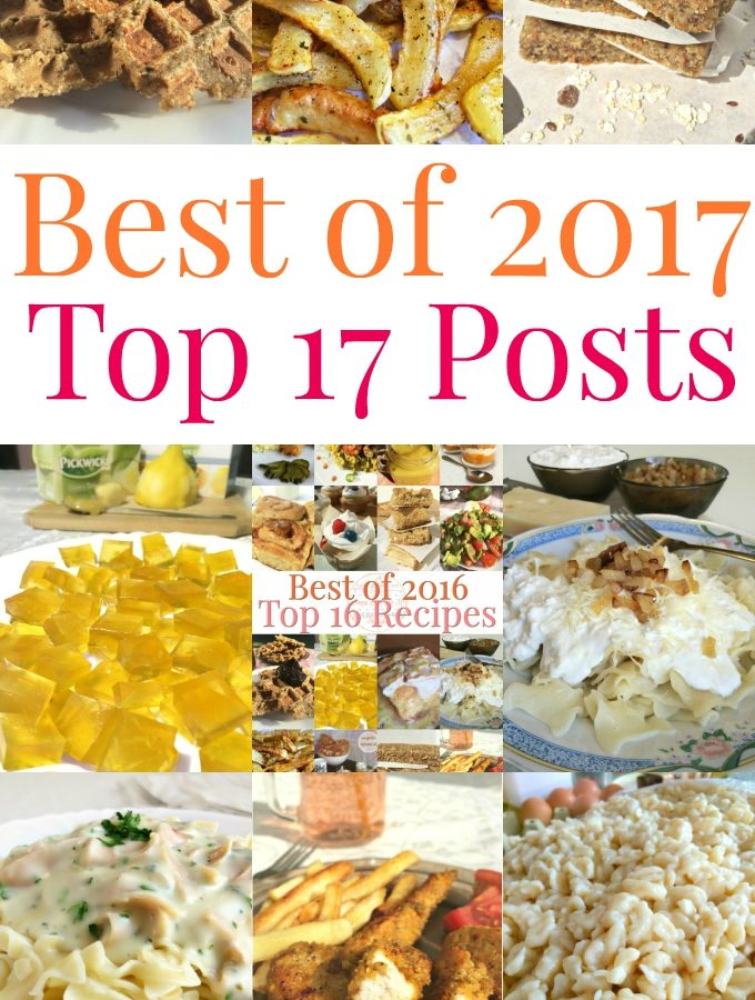 Best of 2017 - Top 17 Posts - Anna Can Do It!