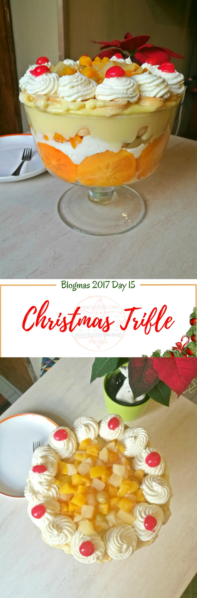 Christmas Trifle - Blogmas 2017 Day 15 - Anna Can Do It!