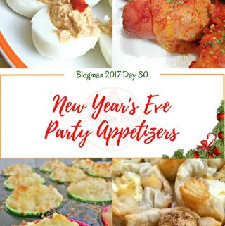 New Year's Eve Party Appetizers – Blogmas 2017 Day 30