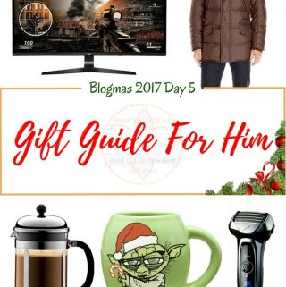 Gift Guide For Him – Blogmas 2017 Day 5