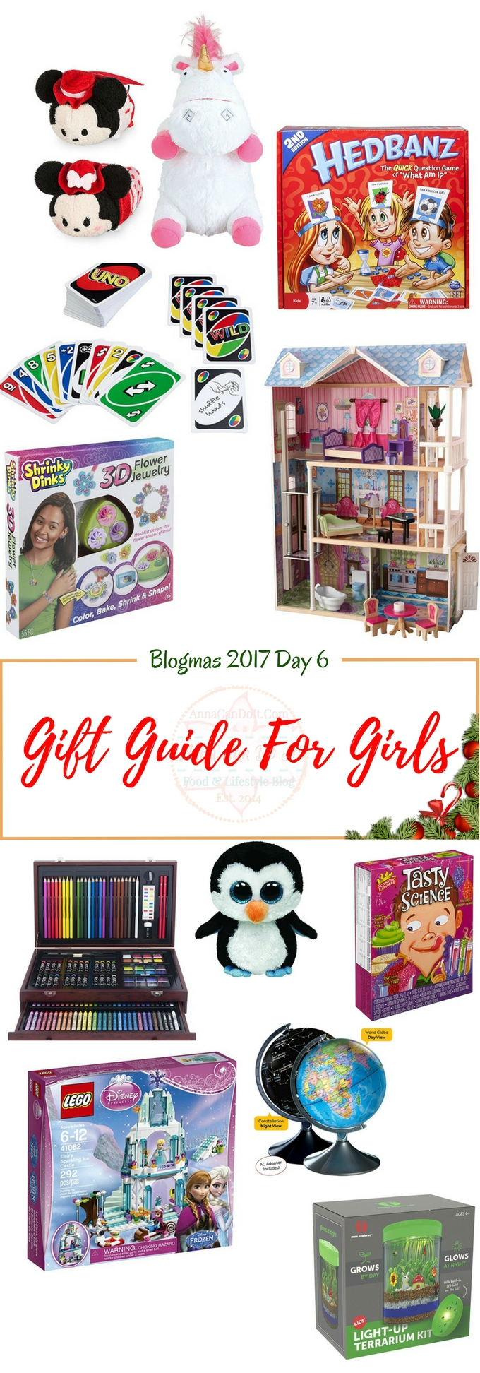 Gift Guide For Girls - Blogmas 2017 Day 6 - Anna Can Do It!