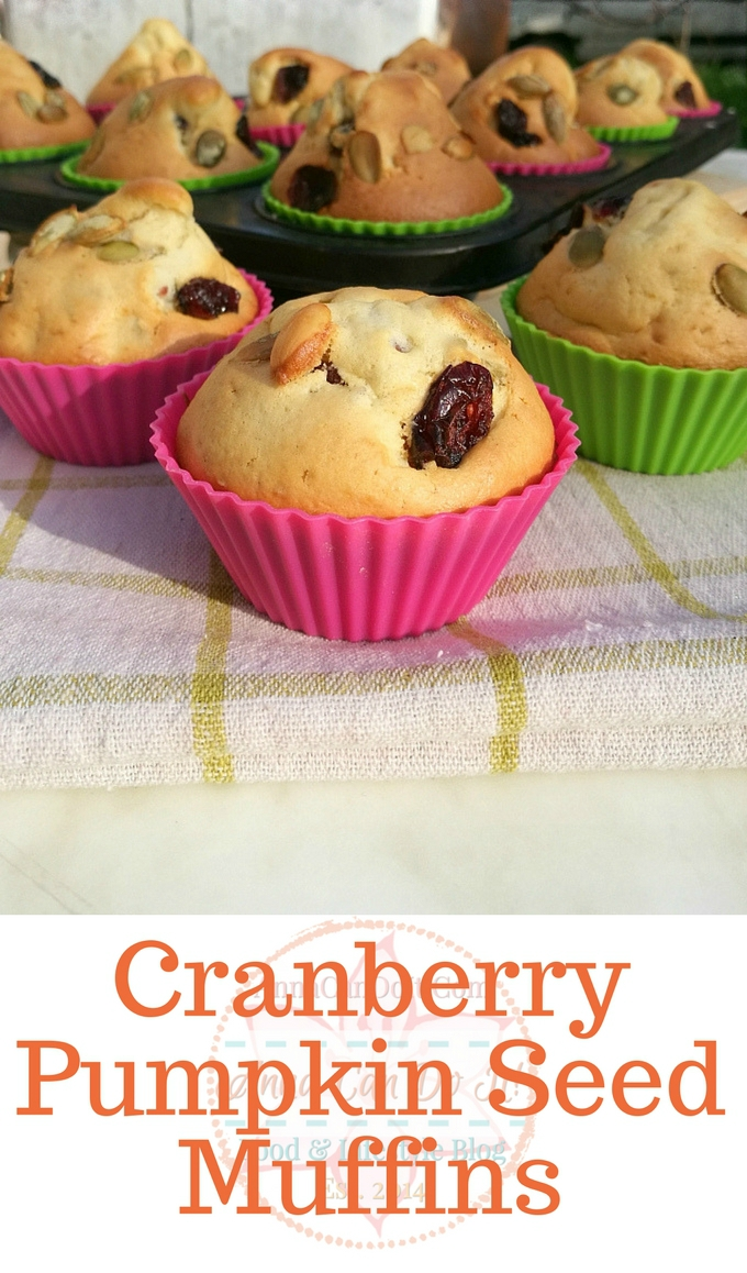 Cranberry Pumpkin Seed Muffins - Anna Can Do It!