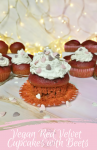 Vegan Red Velvet Cupcakes with Beets - Anna Can Do It!