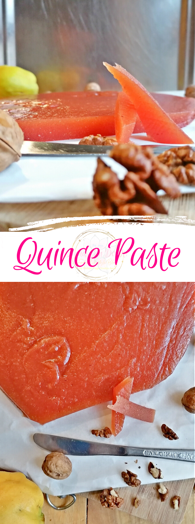 Quince Paste - Anna Can Do It!