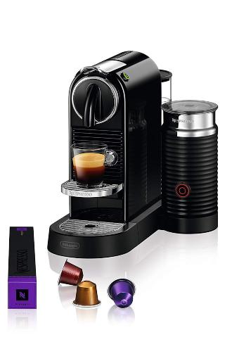 Nespresso by De'Longhi EN267BAE Original Espresso Machine Bundle with Aeroccino Milk Frother by De'Longhi, Black