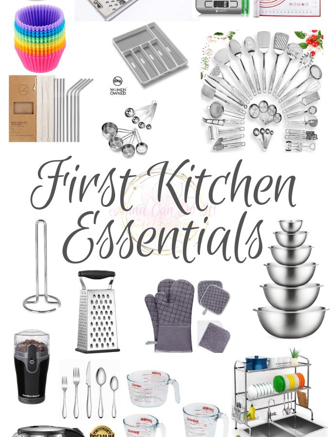 First Kitchen Essentials - Anna Can Do It!