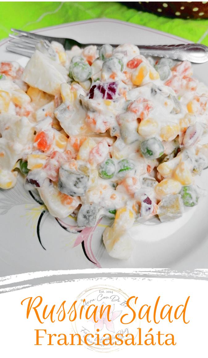 Russian Salad - Franciasaláta - Anna Can Do It!
